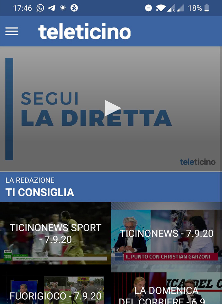 TeleTicino App